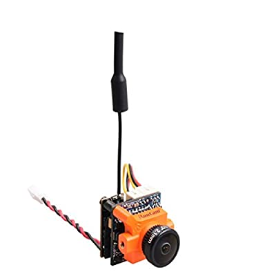 HankerMall FPV AIO Camera Combo RunCam Micro Swift 2 600TVL 2.1mm Lens 160 Degree PAL with RunCam TX200 Video FPV Transmitter VTX 5.8G for Quadcopter FPV Racing Drone