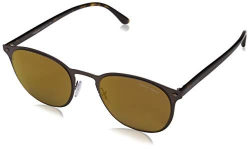 Armani Herren 0AR6062 31917D 51 Sonnenbrille, Matte Brown/Brownmirrorbronze,