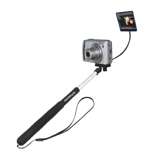 Polaroid Camera Extender Self Portrait Handheld Monopod With Mirror, Extends to 37 -Inch