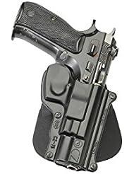 Fobus nouveau dissimulé pistolet report rétention étui Holster pour CZ 75, 75B (Alte Version nur) 75BD, 85 polymère noir