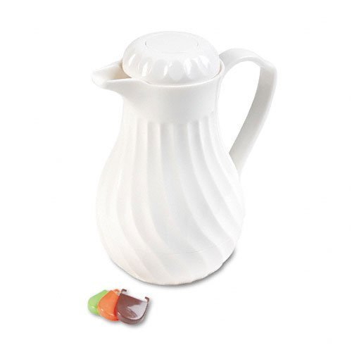 hormel-poly-lined-carafe-swirl-design-40-oz-capacity-white-by-hormel