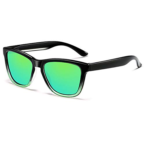 Herren Retro Driving Polarized Sonnenbrille Man Ultra Light Frame Mit UV400-Schutz,1