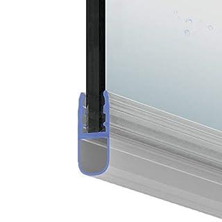 Duschdichtung Dichtleiste Balgdichtung Modell 8 für 8mm Glasstärke 200cm