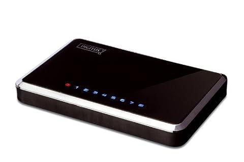 DIGITUS commutateur de bureau Gigabit Ethernet, 8