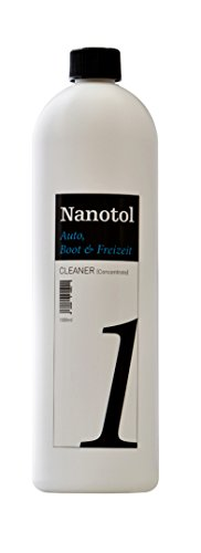 Nanotol Auto, Boot, Freizeit Cleaner - Fahrzeugreiniger Konzentrat (Step 1), 20-40 ml Konzentrat pro 1 Liter Wasser/Lackreiniger/Felgenreiniger/Intensivreiniger/Tiefenreiniger (1000 ml Step 1) -