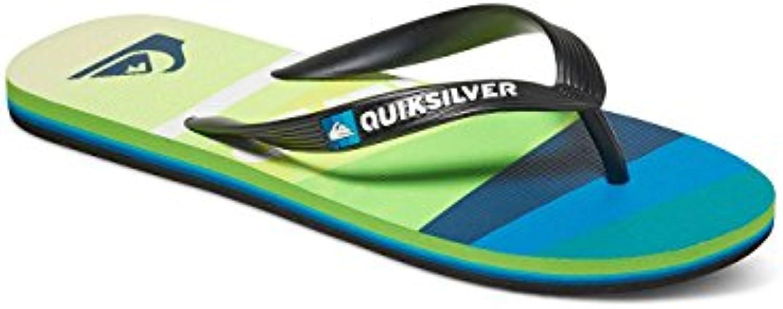 Quiksilver Herren Molokaislashlog Sandalen  Blau  Billig und erschwinglich Im Verkauf