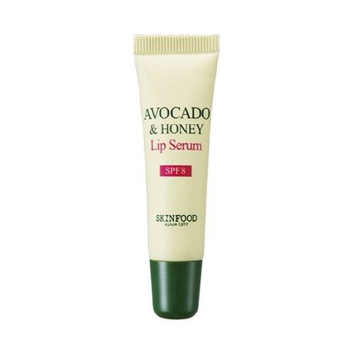 Skin Food - Avocado & Honey Lip Serum SPF8 - Lippenserum mit Avocado und Honig gegen trockene und spröde Lippen für Männer und Frauen - Lippenppflege für zarte Lippen mit UV-Schutz - Peelings - Pflegestifte & Lippenbalsam - Lipglosse - Lipcare