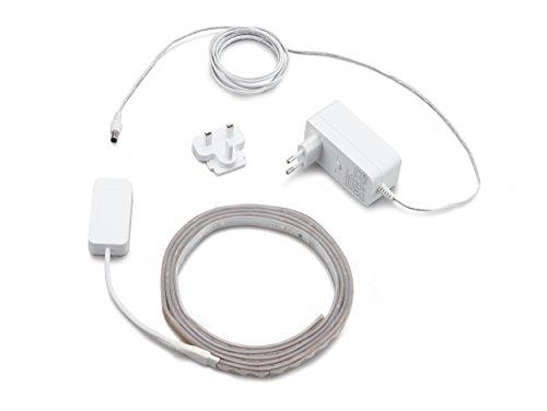 31rmp81FYWL [Bon Plan] Philips Hue Ruban Lumineux Lightstrip White And Color Ambiance de 2Mètres, Bande Flexible Lumineuse Contrôlée Par Smartphone - Lampe Led à Variation de Couleurs - Fonctionne avec Alexa