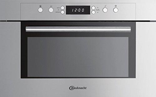 Bauknecht EMCCE 8238 PT Mikrowelle / 1000 Watt / 31 l Garraum / Grill / Edelstahl ProTouch