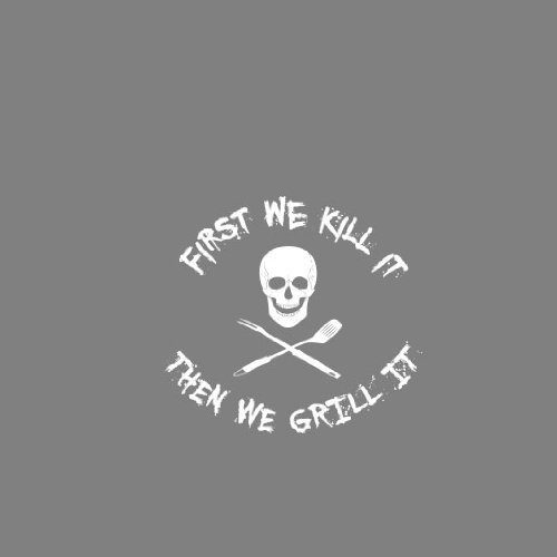 First we Kill it - Stofftasche / Beutel Natur