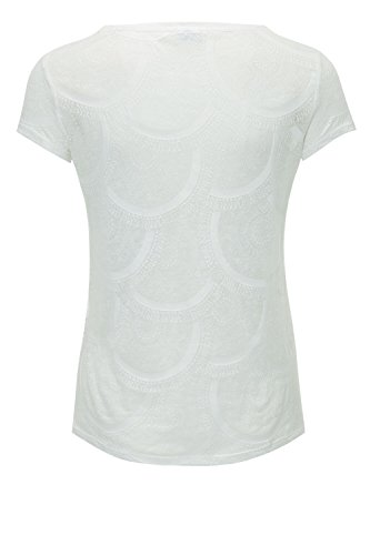 Jacqueline de Yong by ONLY Damen TShirt PrintShirt Longshirt Cloud Dancer