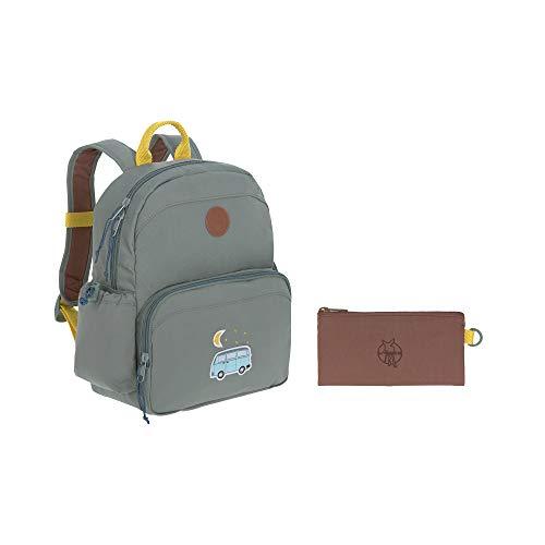 LÄSSIG Kinderrucksack Adventure Medium mit Brustgurt Mädchen Junge Kindergartentasche Kindergartenrucksack / Medium Backpack Adventure Bus