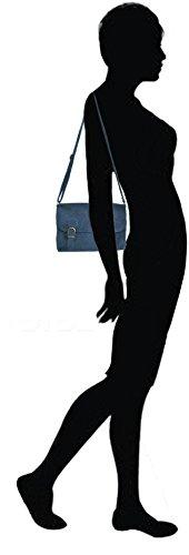 Lae In, Borsa a tracolla donna Bleu marine (25 cm x 16 cm)