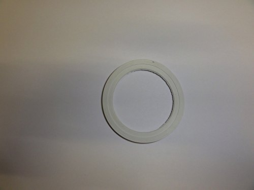 Bialetti - Spare Seal - Replacement Part Suitable for the Funnel of Brikka Espresso Maker - Rubber -...
