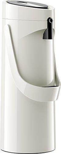 Emsa Pump-Isolierkanne, 1,9 Liter Füllvolumen, Mit Komfort-Druckhebel und abnehmbarer Tropfschale,...
