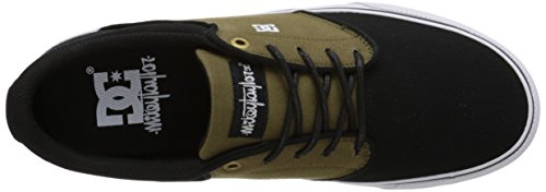 DC Mikey Taylor Vulc TX Low Top Chaussures pour hommes Olive/Black