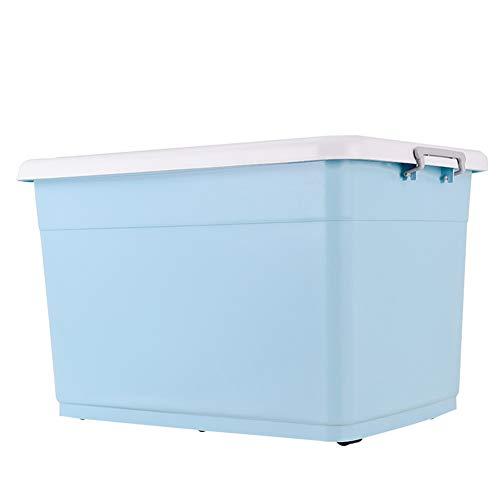 ZHANGQIANG cesto para la Colada Laundry Basket Gran Caja de plástico de Almacenamiento Transparente...