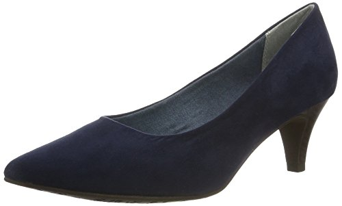 Tamaris Damen 22415 Pumps, Blau (Navy 805), 40 EU