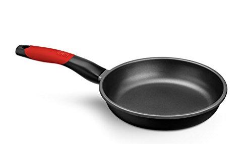 BRA - Set de 3 sartenes, aluminio fundido antiadherente, aptas para todo tipo de cocinas, incluido inducción, Premiere 18, 22 y 26 cm