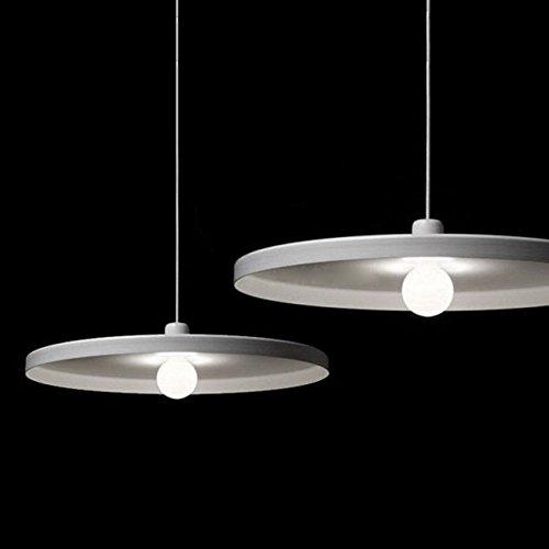 modische aluminium leuchte Schlafzimmer Leuchten Innenbeleuchtung Kunst kreative Persönlichkeit dekorative Leuchten, Durchmesser 360 mm Helle ihr Leben ()