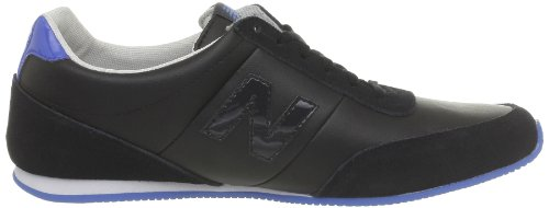 The New York Doll Collection S410, Sneaker Unisex – Adulto Nero  (Noir (Noir / Bleu))
