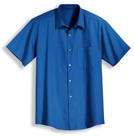 Preisvergleich Produktbild Uvex Herren-Kurzarmhemd 8950 texpert eco aus 100% Baumwolle,  Farbe: kornblau,  Grösse: 43 / 44