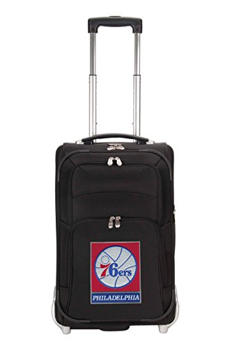 nba-philadelphia-76ers-denco-21-inch-carry-on-luggage-black