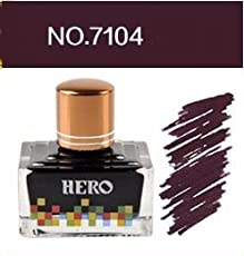 Success Stationery Hero Fountain Pen Extra Colour Noncarbon Nonblocking ink - 7104