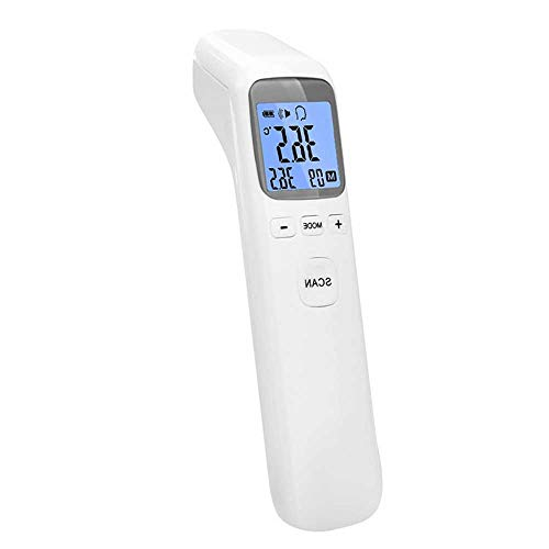 CHENC Thermometer Stirn- Und Ohrthermometer, Fieberalarm 1 Sekunde Messzeit Hochpräzises Digitales Medizinisches Infrarot-Thermometer Für Baby, Kinder, Kinder Und Erwachsene