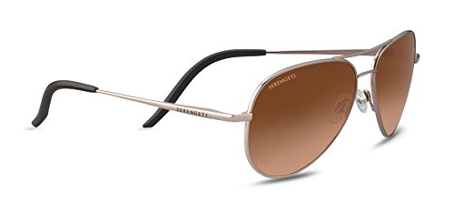 Serengeti Eyewear Erwachsene Carrara S Sonnenbrille, Satin Rose, Small