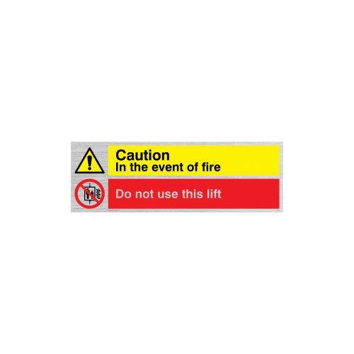 Nicht Verwenden, Lift (Viking Schilder cv140-l15-s