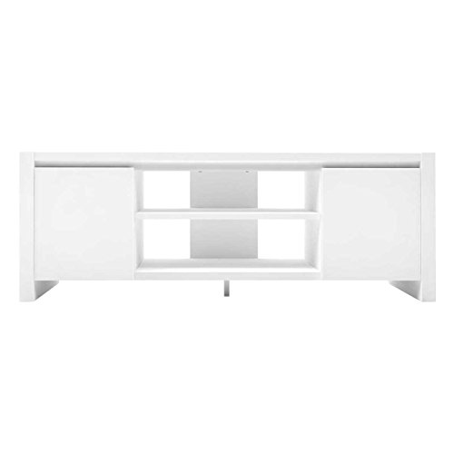 Furniture 247 - Mueble para la televisión contemporáneo con 2 alacenas -...