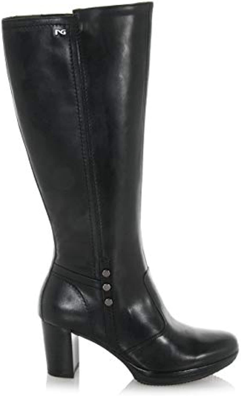 Nero Giardini     Stivali in Pelle nera nera nera A807021D/100B07HRKFNP4Parent 527439