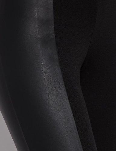 Morgan - Pantaloni, Donna Nero (Noir)