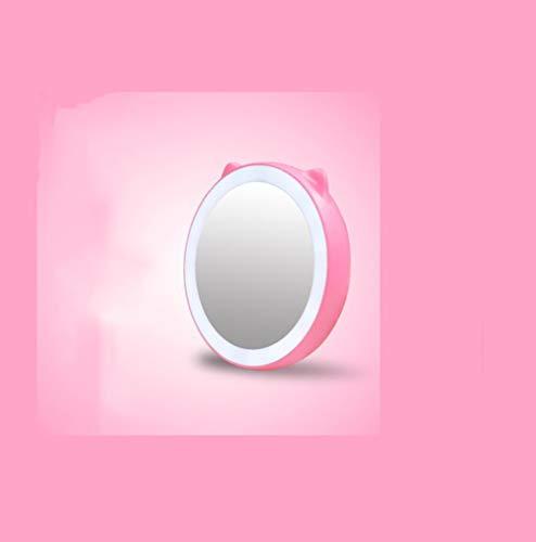 Miroir de maquillage XIAHE LED Remplissage Miroir Miroir De Maquillage Miroir Cadeau Créatif avec Miroir De Beauté Portable De Stockage Cadeau Miroir Pliant Multifonctionnel