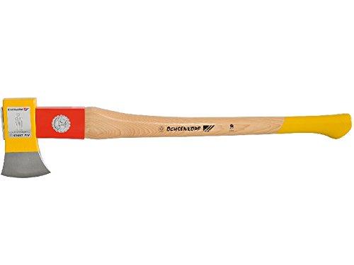 """Ochsenkopf Spaltfix-Axt """"Rotband Plus"""" 2500 g, Metall, beige / gelb, 80 x 4 x 10 cm"""