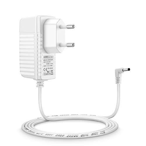 Aukru 6V Netzteil Babyphone Ladekabel Ladegerät für Philips Avent SCD501/00 DECT Babyphone Baby-Einheit (Weiß)