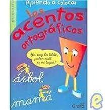 Aprendo a colocar los acentos ortograficos/Learn to place the acute accent