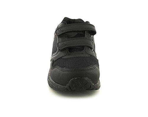 Boys/Childrens Synthetic Leather Black
