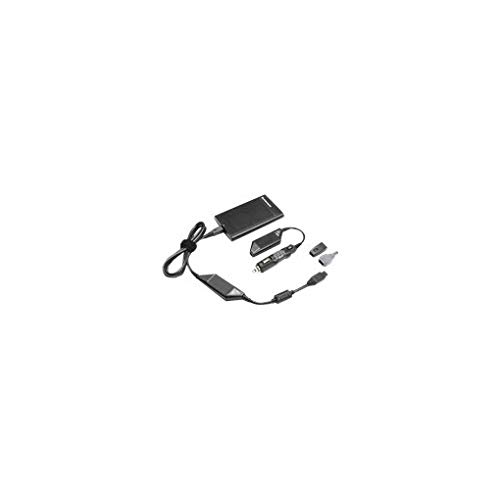 Lenovo 90W Ultraslim AC/DC Combo Adapter - Netzadapter - Wechselstrom / Auto / Flugzeug - Wechselstrom 100-240 - Gleichstrom 10,5-18 V - 90 Watt - Europa (41R4494)