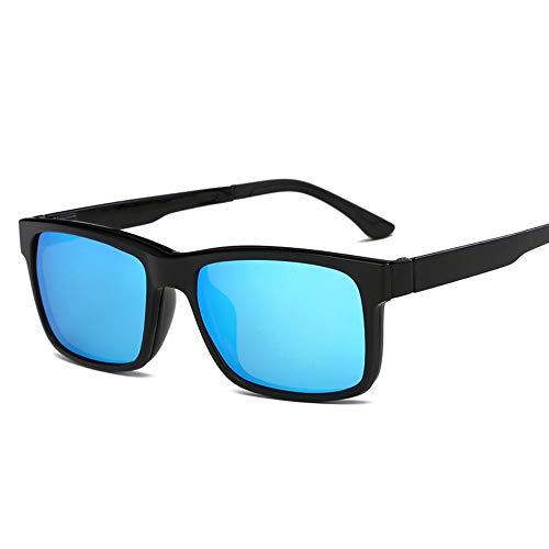 MINGMOU Polarisierte Sunglasses_Myopia Spiegel Großhandel Myopie Polarisierte Sonnenbrille Dual Magnet Magnetklammern Tr90 Brillengestell, 1
