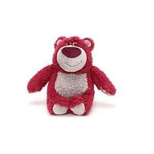 Disney, Toy Story 3, Lotso jouet à peluche; 20cm - avec un parfum de fraise