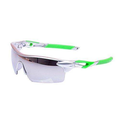 eizur Radsport Sonnenbrille Unisex Sports Outdoor-UV400, polarisiert winddicht Brille Radsport für Fahrrad Motorrad Laufen Reitstiefel Wandern der Fischerei 15Arten optional, Couleur 3