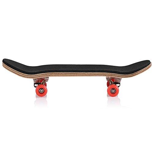 Mini diapas/ón Azul oscuro Patineta de dedos profesional para Tech Deck Maple Wood DIY Assembly Skate Boarding Toy Juegos de deportes Kids Christmas Gift Fingerboard Finger Skateboards