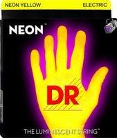 Neon Hi-Def Yellow Electric Guitar 009-046/Fluorescente Cuerdas (Amarillo)