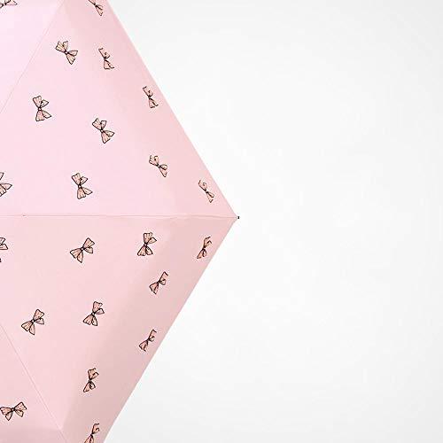 PZXY Parapluie Parapluie Ultra léger Petit Soleil Anti-UV Pliant Poche Solaire Pluie Double Usage Parasol 53 * 90 cm
