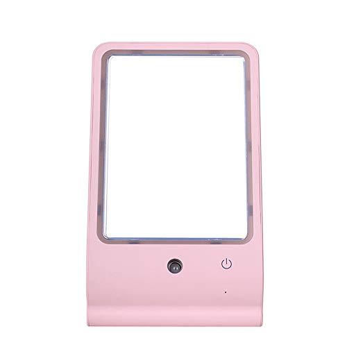 Miroir de maquillage XIAHE Spray Hydratant LED Lumière Beauté Vanity Mirror Nano Hydratant De Bureau Miroir De Bureau Miroir De Ma Maison Miroir Pliant Multifonctionnel
