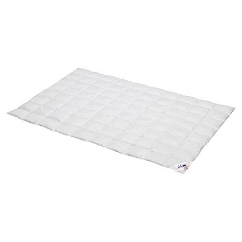 Schlafstil Einziehdecke Feel it Daunen/Feder Wärmestufe 1 Größe 200x220 cm