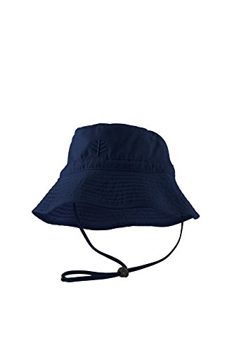 Cooli Bar Chin Strap Chapeau Garçon Protection UV 50 + Bleu Bleu L/XL