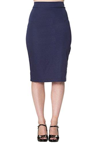 Banned - Jupe - Femme Bleu